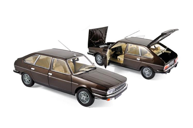 renault 30 tx 1981 marron bronze 1 18 norev 185271 ebay. Black Bedroom Furniture Sets. Home Design Ideas