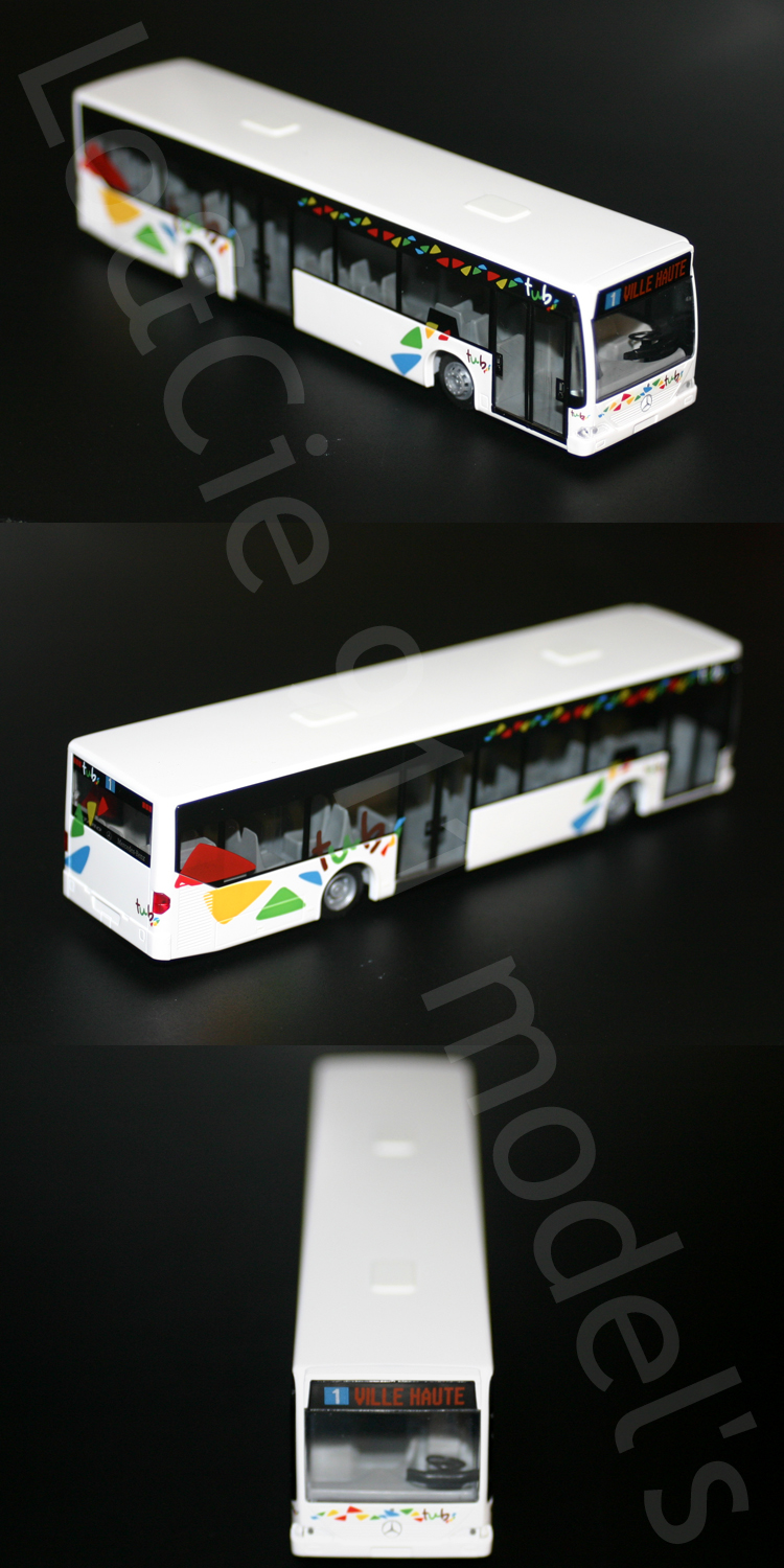 bus mercedes o530 citaro autobus tub bar le duc ligne 1 1 87 rietze modelle ebay. Black Bedroom Furniture Sets. Home Design Ideas